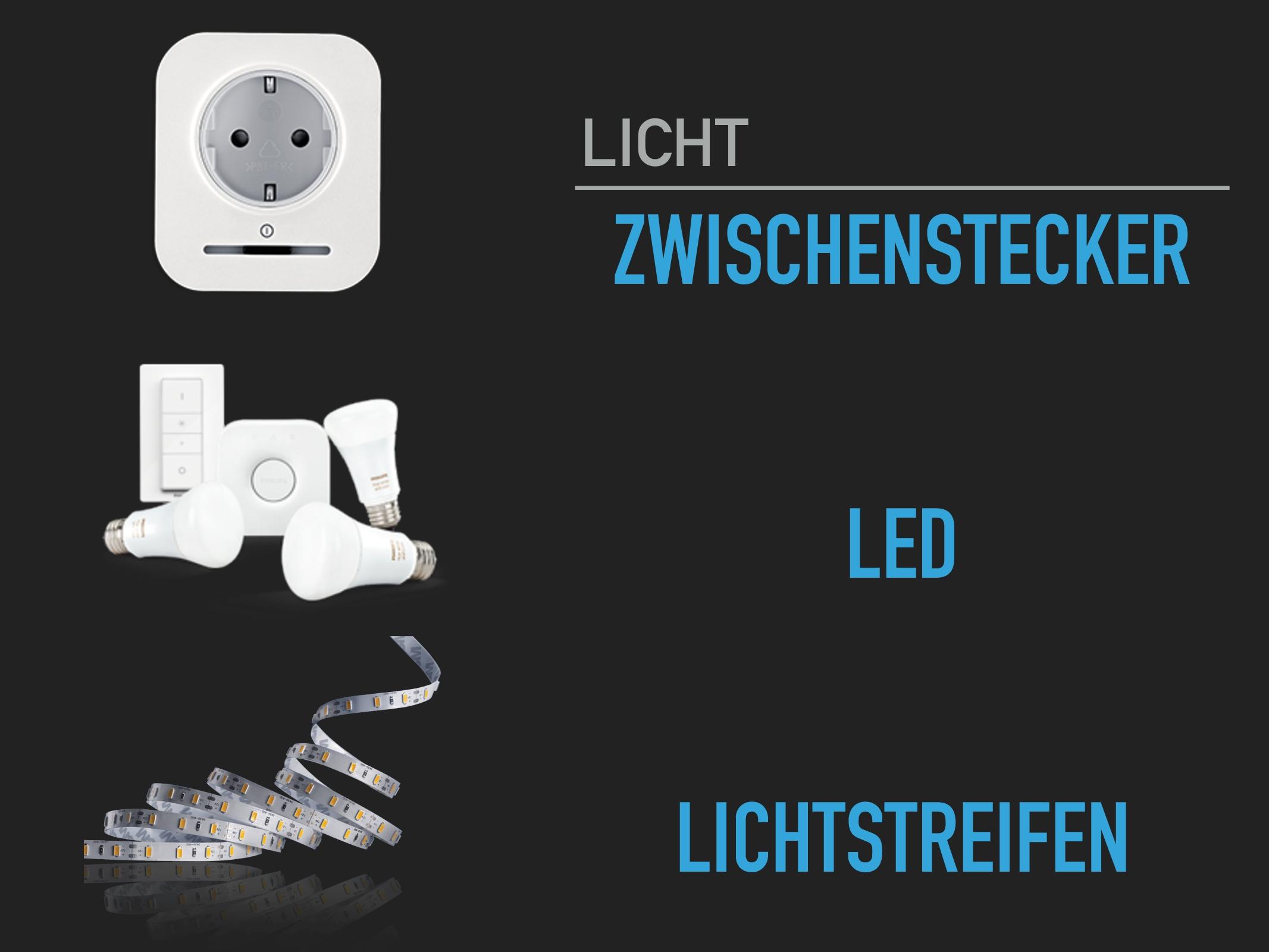 Zwischenstecker-LED-Lichtstreifen